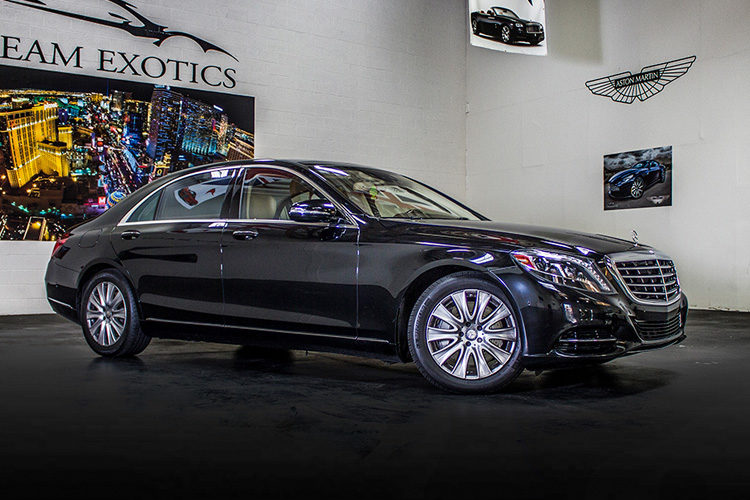 Mercedes Benz s550 Black