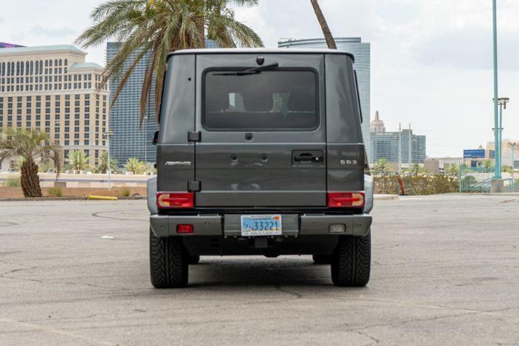 Mercedes-Benz G63 (G-Wagon) - Gray