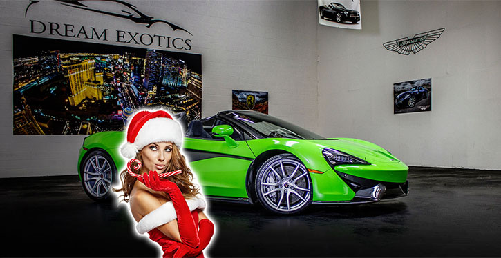 Luxury Car Rental For Christmas