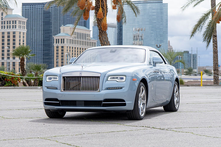 Rolls Royce Dawn, Blue