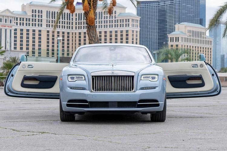Rolls Royce Dawn, Blue