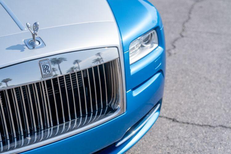 Rolls-Royce Wraith (Blue)