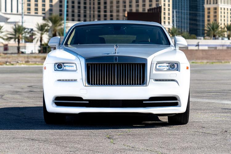 Rolls Royce Wraith, White