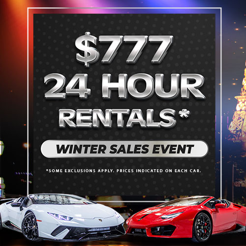 Winter Sales Event - All Cars $777